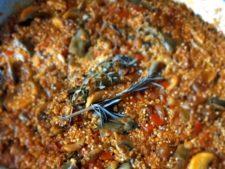 paella de quinoa i cochayuyo del blog de la iaia vegana