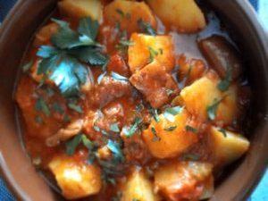 marmitaco de cochayuyo del blog de la iaia vegana